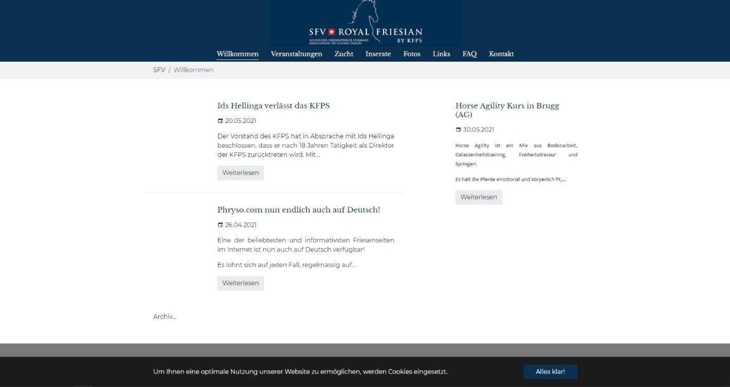 sfv-hemsida